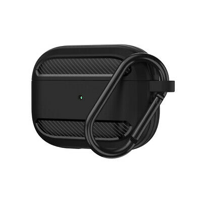 AU10.79 • Buy For AirPods Pro 2019 Wireless Charging Case Carbon Fibre Protective Skin Cover
