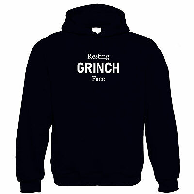 Resting Grinch Face, Hoodie - Christmas Gift • 21.99£