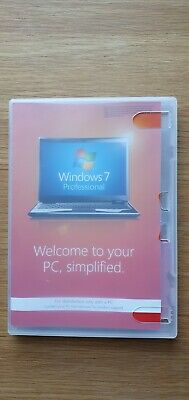 Windows 7 Professional 32 Bit Includes Service Pack 1 With Product Key. • 18.77£