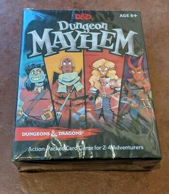 AU19.82 • Buy Dungeon Mayhem - Board Game - Dungeons & Dragons (D&D) - NEW & Sealed