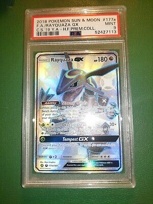$ CDN299.99 • Buy Pokemon Hidden Fates Premium Collection Promo 177a/168 Rayquaza GX PSA 9