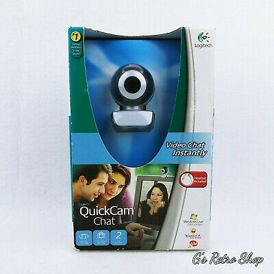 Logitech Quickcam Video Chat Web Cam Skype Headset Included  • 13.35£