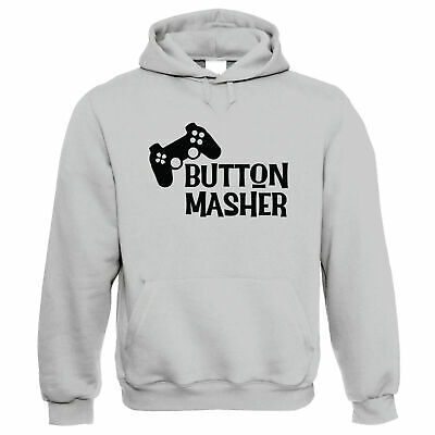 Button Masher, Hoodie - Gaming N00B Combo Move Gift • 24.99£