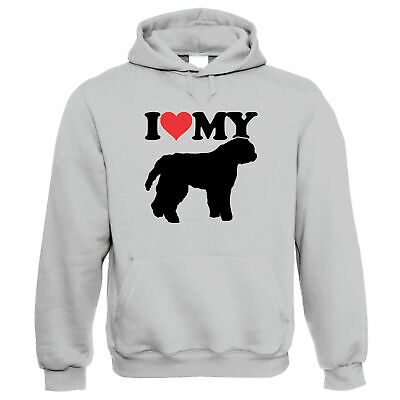 I Love My Bouvier Des Flandres Hoodie - Dogs Gift Him Her Birthday • 24.99£