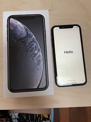 AU250 • Buy Apple IPhone XR - 128GB - Black (Unlocked) A2105 (GSM) (AU Stock)