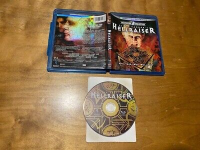 Hellraiser Blu Ray*Anchor Bay*Clive Barker Classic Horror*Widescreen*80's* • 3.44£