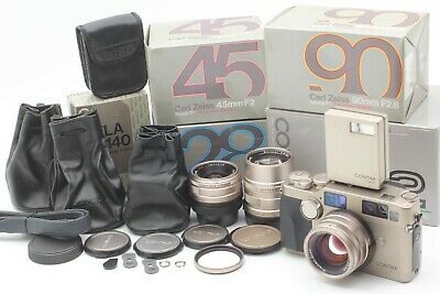 $ CDN3404.01 • Buy  Perfect SET【UNUSED Boxed】 Contax G2 Body + 28mm , 45mm , 90mm,TLA140 From JAPAN
