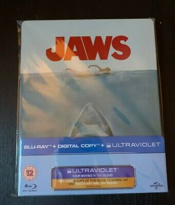 Jaws ( Limited Edition Blu-Ray Steelbook) • 18.98£