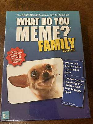 AU26.11 • Buy What Do You Meme? Family Edition Game