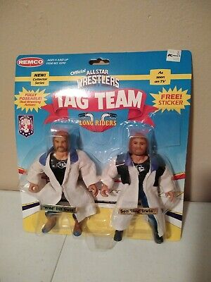 $ CDN190.29 • Buy *OPEN PACKAGE* 1985 REMCO AWA The Long Riders WRESTLING ACTION FIGURE Tag Team
