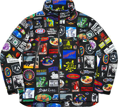 $ CDN725.96 • Buy NWT Men's Supreme GORE-TEX Stickers Shell Jacket (SS21) Black Size S BRAND NEW