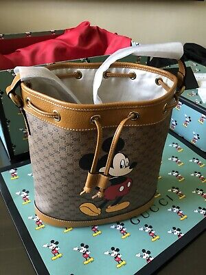 AU2450 • Buy Disney X Gucci Bucket Bag - Limited Edition. Brand New With Receipt