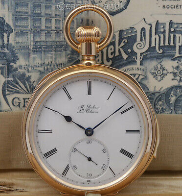 £18610.33 • Buy Mint Heavy Patek Philippe Pocket Watch Minute Repeater Top Quality 1884 Certifat