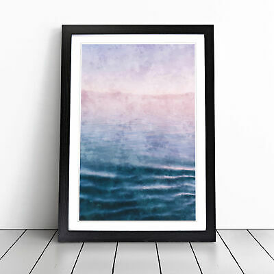 Lake Garda Italy Painting Wall Art Framed Print Home Decor Picture • 18.95£