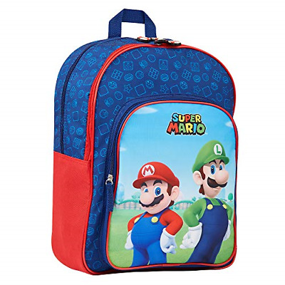 Super Mario Kids Backpack, School Bag For Boys And Teenager, Super Mario Gifts • 21.86£