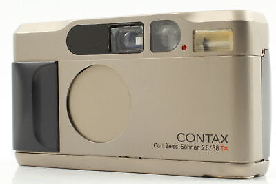 $ CDN630.36 • Buy 【For Parts】  Contax T2 35mm F2.8 Point & Shoot Compact Film Camera Strap JAPAN