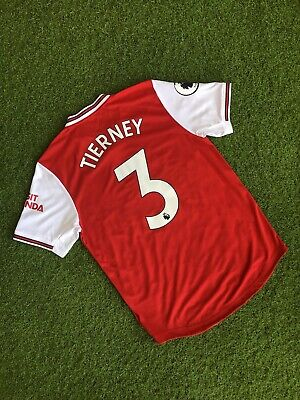 $149 • Buy Arsenal Adidas Jersey Home Shirts 2019-20 Player Issue Size M #3 Tierney