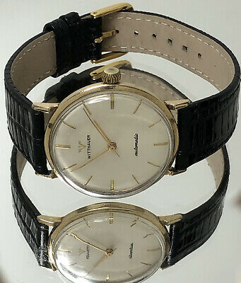 $ CDN43.40 • Buy Wittnauer Longines Automatic Vintage 10K Gold Filled Armbanduhr Watch New York