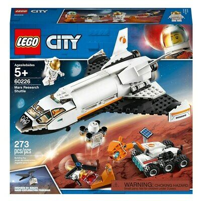 LEGO 60226 City Mars Research Shuttle Space Toy - BRAND NEW UNOPENED • 14.49£