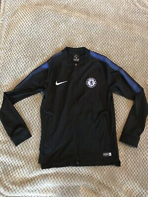 Nike Kids Boys Dri-Fit Track Top Jacket Chelsea FC Authentic Medium Age 11 • 3.70£