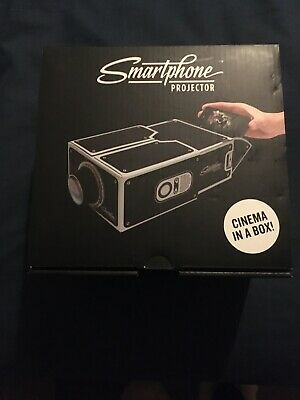 SmartPhone Projector Mobile Phone Home Theatre Cinema For IPhone, Android Phone • 3£