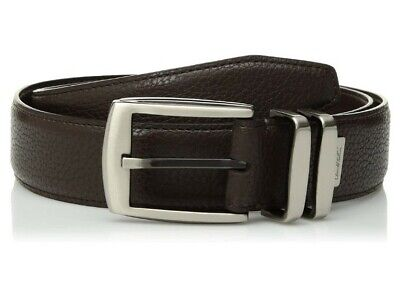 $29.97 • Buy ARNOLD PALMER MENS Double Prong Golf Belt Brown Leather Size 44  Inch Men's 44