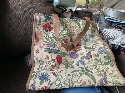 AU14 • Buy 34x32x18 Cm FABRIC TOTE BAG Brand New Unwanted Gift Undamaged
