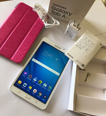 """AU10.50 • Buy Samsung Galaxy Tab A6 7""""   8GB   Wifi White Tablet Excellent Condition"""