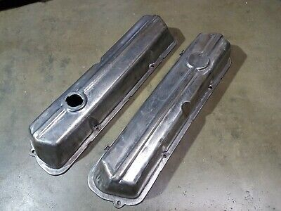 AU350 • Buy Holden HQ 253 308 4.2 5.0 V8 Red Motor Rocker Covers Monaro GTS Statesman Coupe