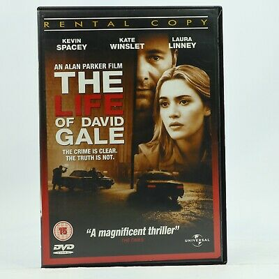 AU10.95 • Buy The Life Of David Gale Kevin Spacey Kate Winslet Laura Linney DVD R2 GC