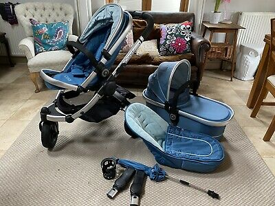 ICandy Peach Jogger Pram Buggy Travel System, Excellent Condition • 110£