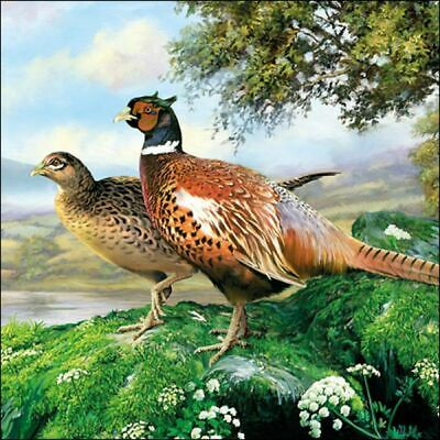£2.50 • Buy 5 Paper Party Napkins Pheasant Game Birds Pack Of 5 3 Ply Serviettes Birds