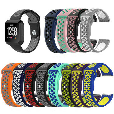 $ CDN7.50 • Buy Replacement For Fitbit Versa 1/Lite Silicone Wrist Band Watch Strap Bracelet E0