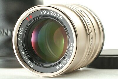 $ CDN239.88 • Buy 【TOP MINT In Case】 Contax Carl Zeiss Sonnar T* 90mm F/2.8 Lens For G1 G2 JAPAN