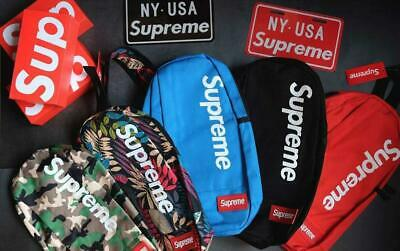 $ CDN90.23 • Buy Supreme Crossbody Single Strap Backpack Bag *brand New - Fast Shipping*