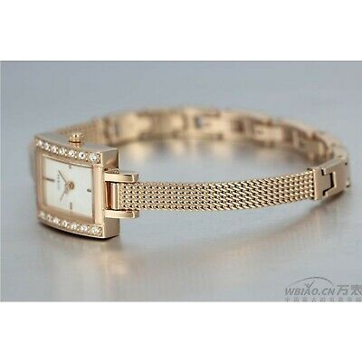 $ CDN82.22 • Buy Guess Women's Rose Gold Tone With Crystal Accent Rectangular Dress Watch
