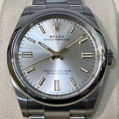 $ CDN9643.31 • Buy Rolex Oyster Perpetual 36mm Silver Dial UNUSED/UNWORN Box And Papers 126000