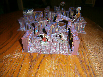AU84.82 • Buy 3d Printed Dungeon/Cavern Tiles Painted Dungeons And Dragons, Pathfinder