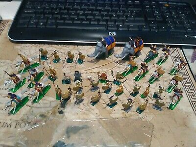 1 72 Plastic Soldiers Zvezda Alexander The Greath Army With Elephant Big Lot • 21.54£