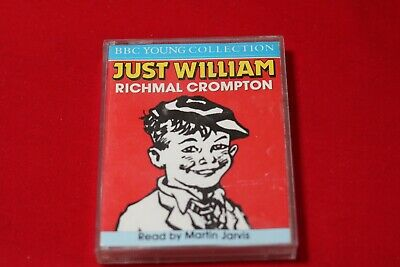 JUST WILLIAM - Audio Cassette - Richmal Crompton - Read By Martin Jarvis • 3.50£