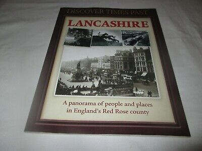Discover Times Past Illustrated Book - LANCASHIRE • 0.99£