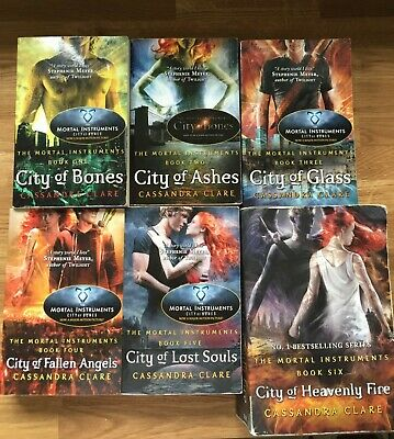 Shadowhunters Series Cassandra Clare Set 6 Books Mortal Instruments Collection • 5.90£