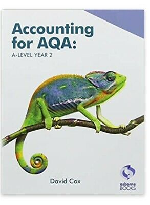 £9 • Buy Accounting For AQA : AS And A Level Year 2