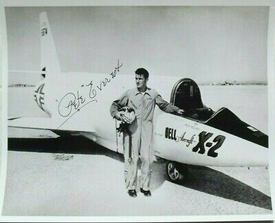 £159.72 • Buy Pete Everest Bell X-1 Test Pilot Signed Photograph Authenticated