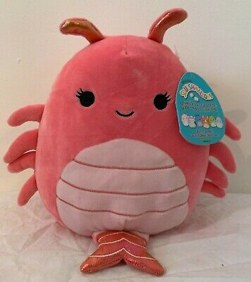 $ CDN50 • Buy BNWT 8  Simone The Shrimp Squishmallow Kellytoy *Hard To Find* Squishmallows