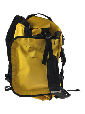 Used The North Face Base Camp Duffel Small Backpack Nylon Yellow Bag • 107.13£