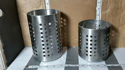 AU6.54 • Buy Large Kitchen Utensil Caddy IKEA ORDNING Stainless Steel Cooking Tools Holder