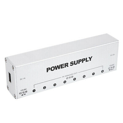 $ CDN45.92 • Buy Guitar Pedal Professional Guitar Pedal Power Supply Isolated 9 Output Way For