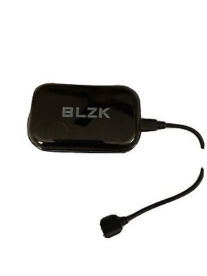 BLZK Ear Buds With Charger, Black, Only Used A Few Times • 7.96£
