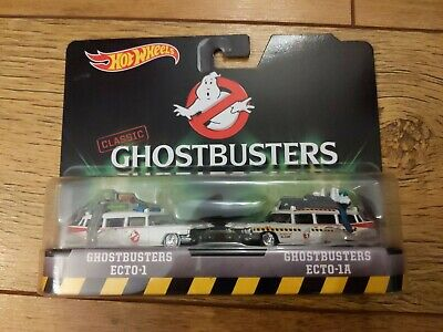Hot Wheels Collectors Mattel Ghostbusters Twin Pack Ecto-1 & Ecto-1A Die Cast • 39.99£